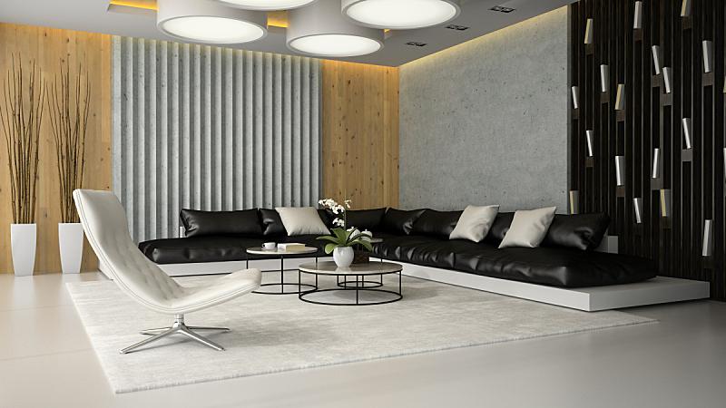 扶手椅,起居室,白色,室内,三维图形,三个物体,舒服,地板,椅子,沙发