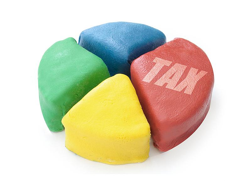 税,饼图,银行业,白色,商务,红色,背景分离,蛋糕,概念,图像