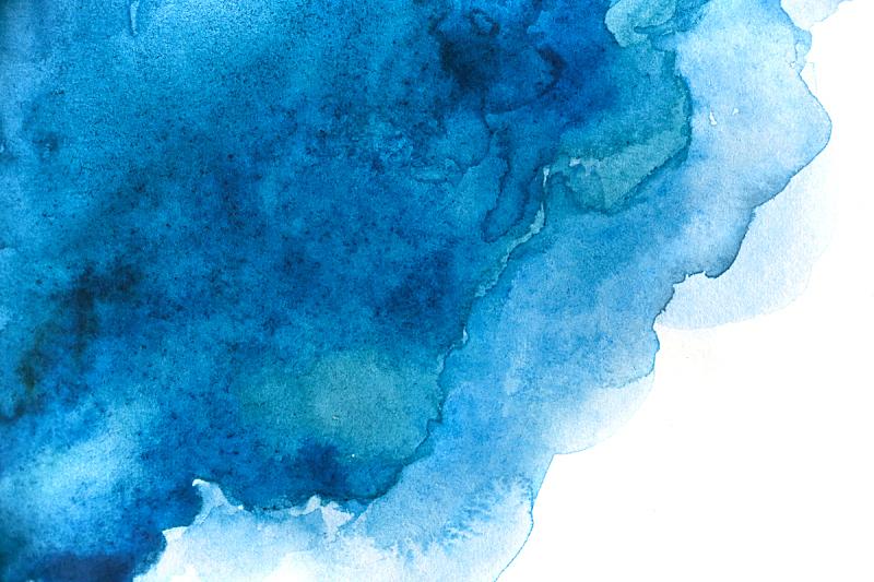 抽象,白色,水彩背景,空白的,分离着色,图像特效,水彩颜料,水彩画颜料,彩色图片
