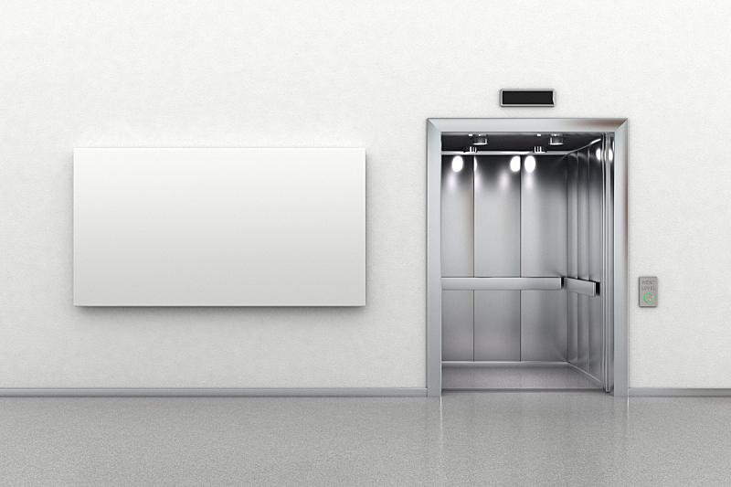 电梯,易接近性,布告栏,室内,水平画幅,大厅,无人,现代,居家装饰,摄影