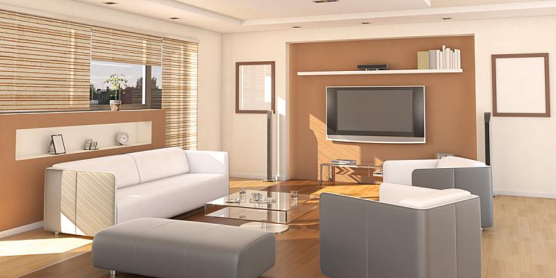 舒服,起居室,室内设计师,水平画幅,别墅,无人,灯,家具,现代