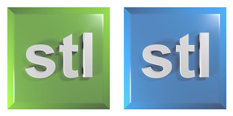 文件,三维图形,绘画插图,绿色,蓝色,按钮,正方形,打印机,计算机,两个物体