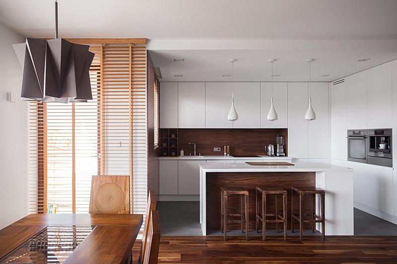 褐色,住宅内部,白色,水平画幅,无人,椅子,灯,家具,居住区,现代