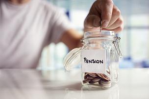 退休金,做计划,救球,养老金,广口瓶,英国,储蓄,捐款箱,预算,家庭理财