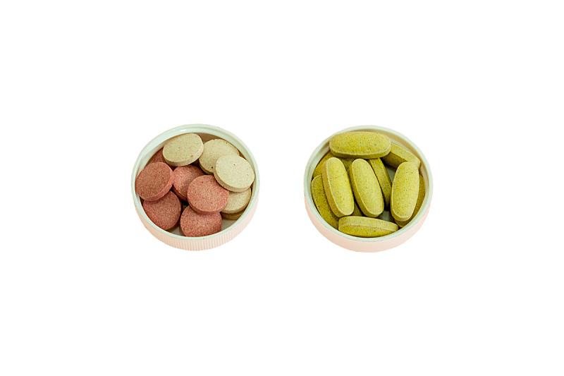 药丸,头痛,水平画幅,无人,有毒生物体,维生素,健康保健,背景分离,营养品,药