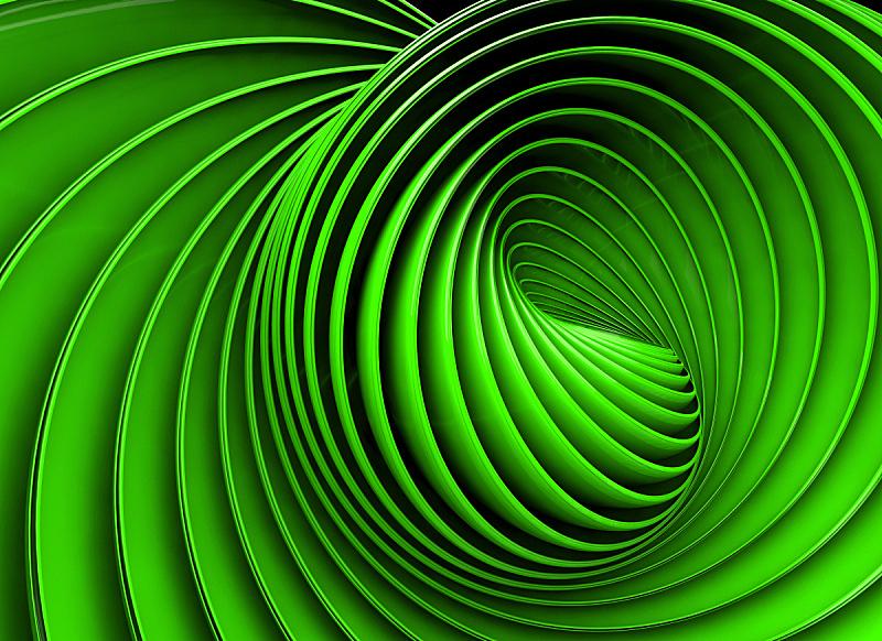 漩涡形,背景,未来,水平画幅,形状,无人,绘画插图,错觉,现代,消失点