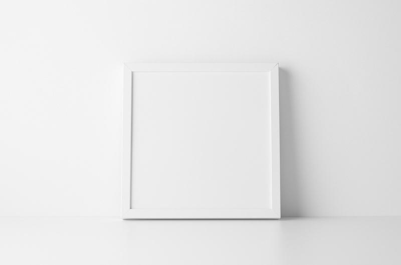 正方形,边框,轻蔑的,餐具柜,相框,文件夹,绘画艺术品,空白的,墙