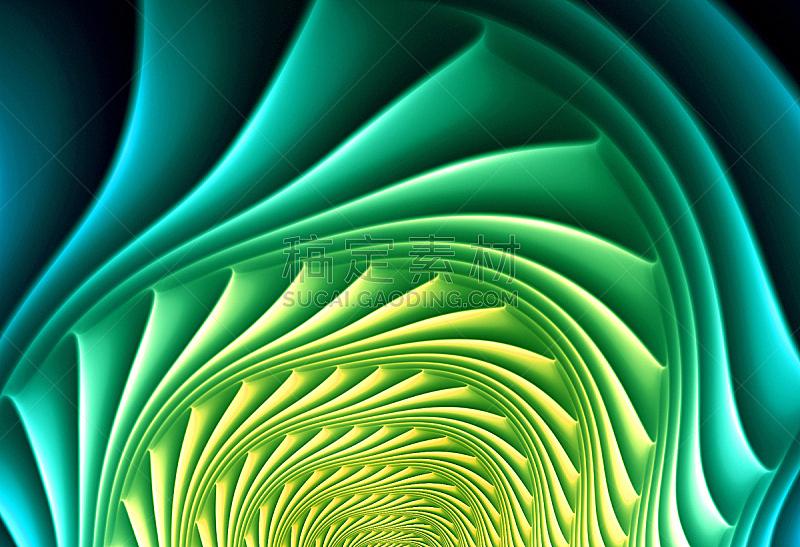 形状,抽象,分形,太空,圆形,式样,艺术,水平画幅,绘画插图,艺术品