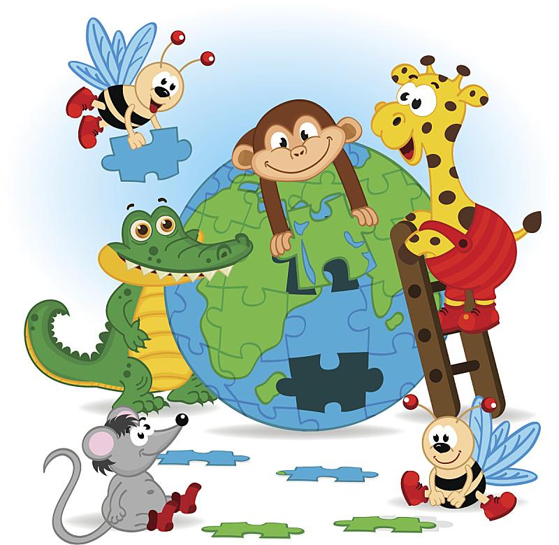 动物,泥土,谜题游戏,萤火虫,植物馆,鳄鱼,猴子,纸牌,人老心不老,垒起
