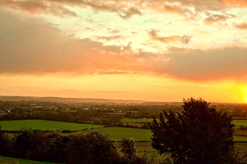 沃敏斯特,天空,水平画幅,山,无人,早晨,英格兰,曙暮光,时间,户外