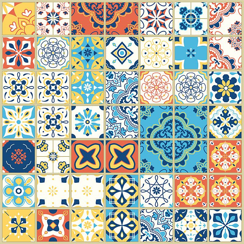 式样,绘画插图,矢量,高雅,四方连续纹样,瓷砖,白色背景,手,形状,几何形状