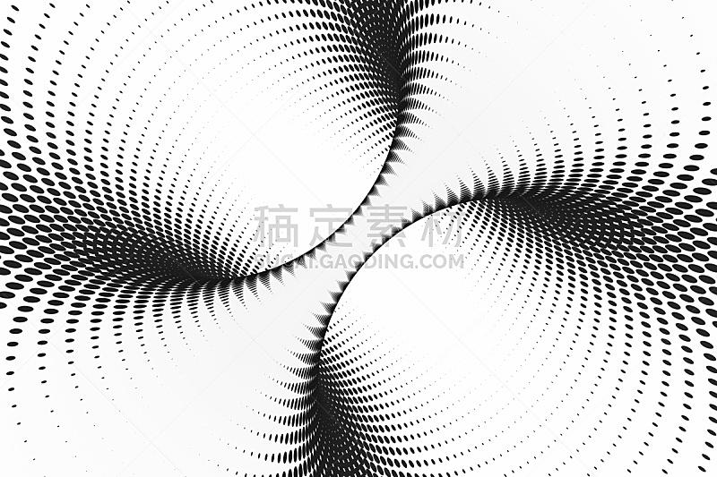 错觉,抽象,螺线,隧道,三维图形,斑点,条纹,背景聚焦,点染,缠绕