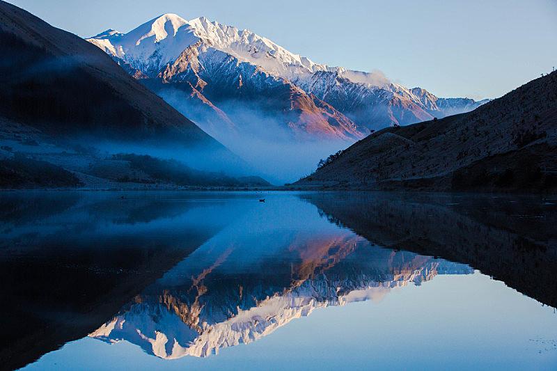 湖,自然,水,天空,美国,水平画幅,云,地形,无人,户外