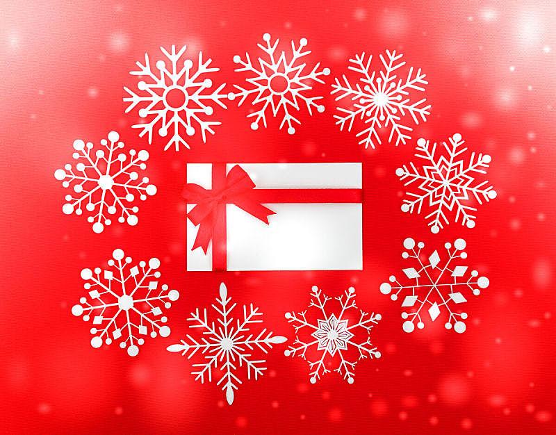 背景,红松,概念和主题,贺卡,水平画幅,雪,无人,彩色背景,概念