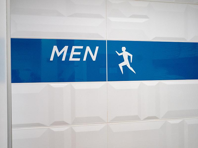 衣帽间,男人,进口标志,安全护栏,办公室,美国,水平画幅,无人,蓝色,符号