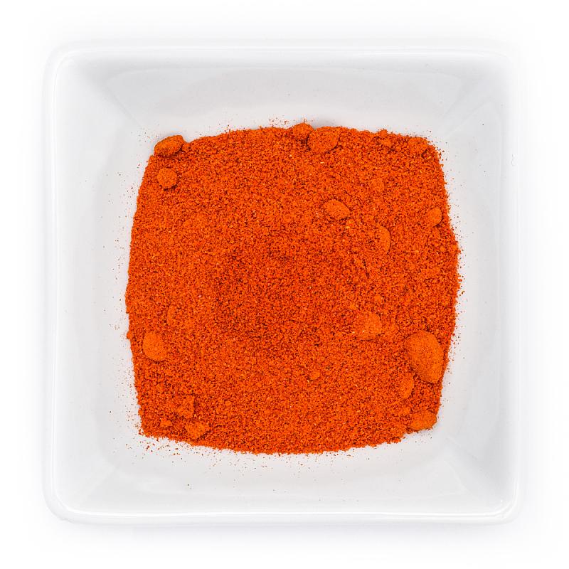碗,红色,辣椒粉,研磨食品,白色,蔬菜,陶瓷制品,生食,背景分离,香料