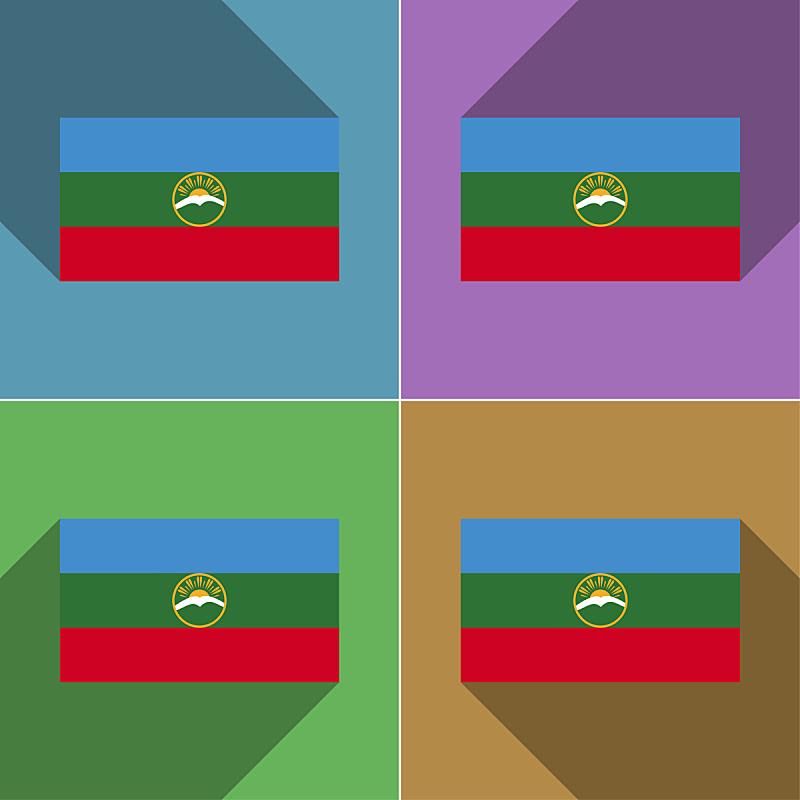 阴影,长的,扁平化设计,联邦大楼,前苏联,欧亚大陆,燕尾旗,领土行为,职权,符号