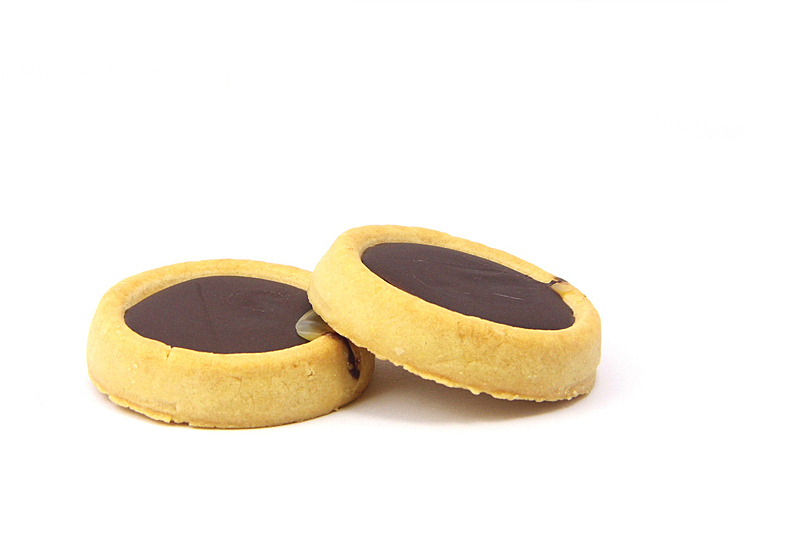 巧克力脆饼,饼干,褐色,水平画幅,无人,不健康食物,黄油,奶油,巧克力,背景分离