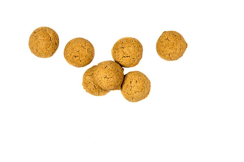 饼干,在上面,小的,坚果,水平画幅,传统,胡椒坚果,生姜,凌乱
