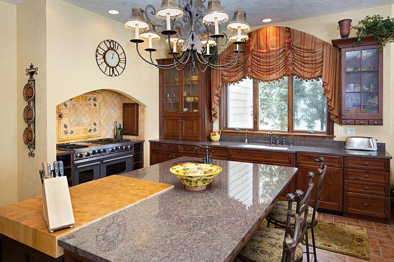 厨房,室内,高雅,彩色图片,纹理,住宅内部,家具