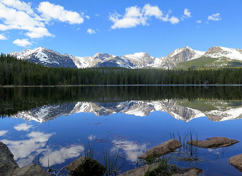 岩石,大陆分水岭,湖,超轻型飞机,美国,水平画幅,雪,无人,巨石,户外