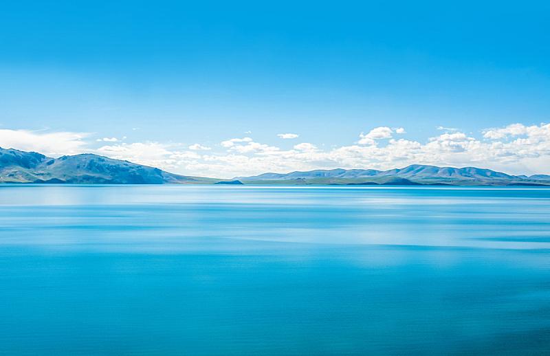 中国,湖,青藏铁路,风景,风,云,马轿,长江,河流,户外