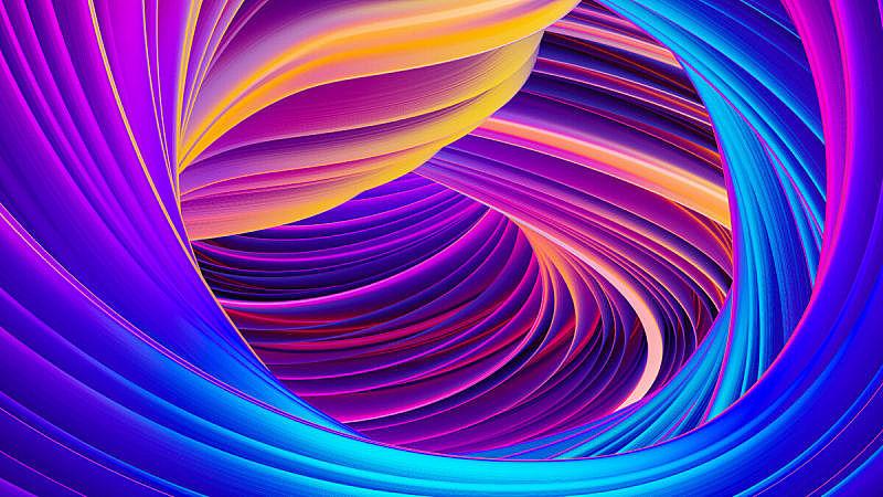 背景,霓虹灯,全息图,式样,抽象,液体,紫外线灯,留白,绘画插图