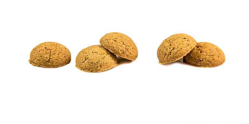 五个物体,生姜,坚果,胡椒坚果,饼干,水平画幅,无人,全景,背景分离,荷兰