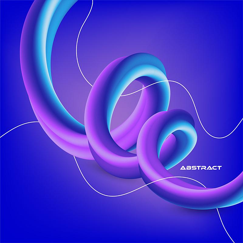 几何形状,现代,背景,色彩渐变,抽象,形状,活力,流动,聚会