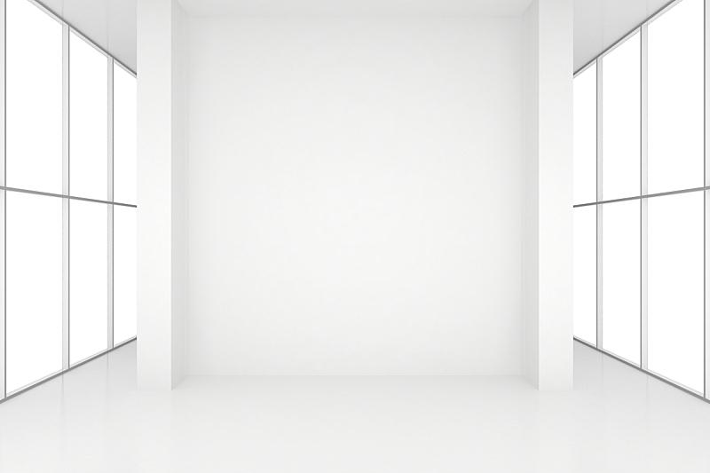 窗户,住宅房间,白色,三维图形,空白的,留白,水平画幅,墙,无人,反射