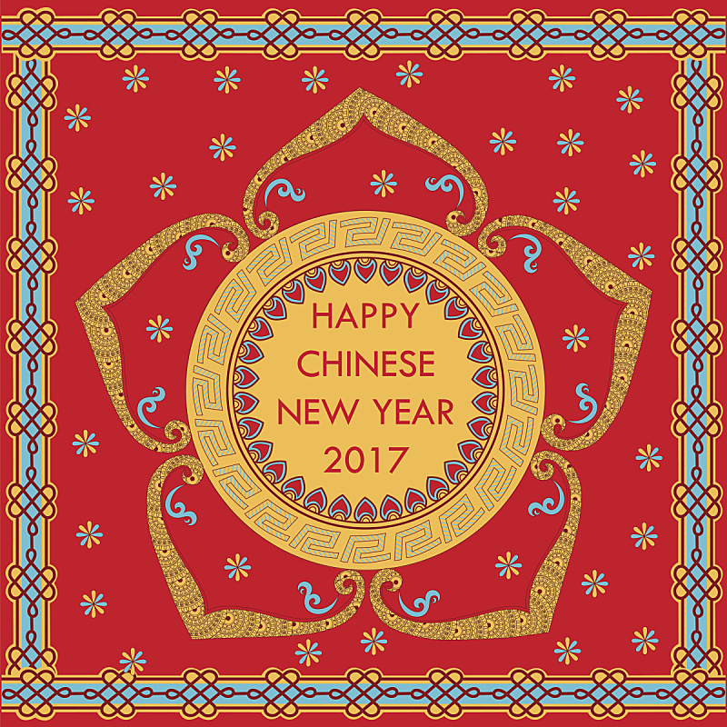 背景,2017年,公鸡,新的,创造力,亚洲,春节,新年前夕,图像,圣诞节