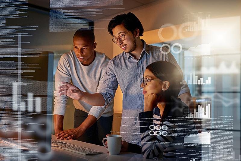 努力,编码,未来,少量人群,计算机软件,男商人,男性,it技术支持,仅成年人,计算机语言
