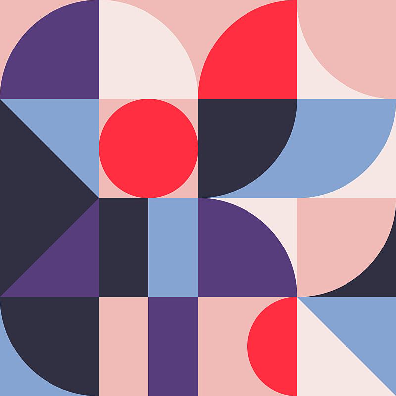 几何学,式样,抽象,插画,几何形状,简单,壁纸,模板,现代,柔和色