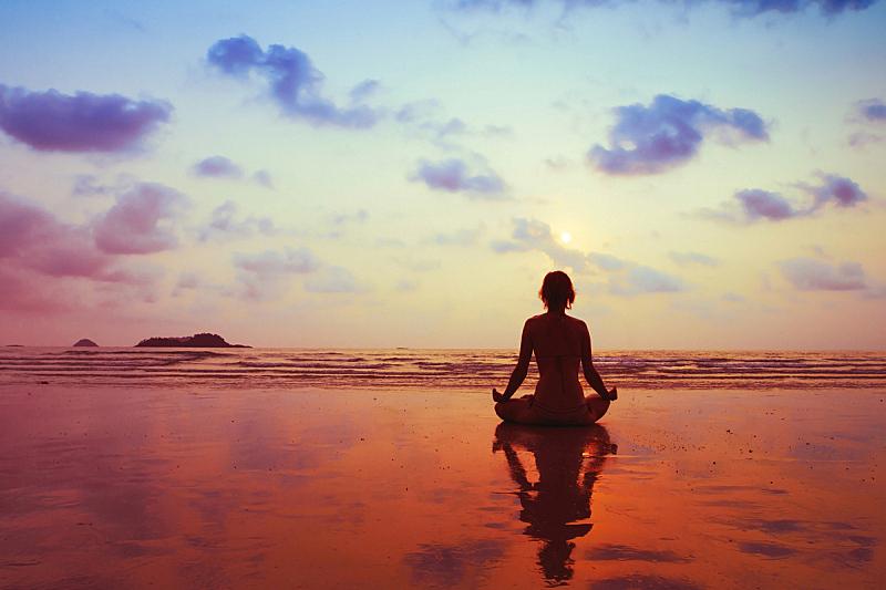 灵性,禅宗,呼吸运动,天空,替代疗法,辅导讲座,健康,海滩