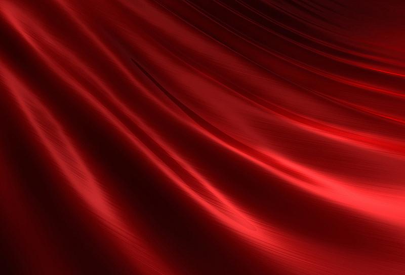 丝绸,红色,波纹,缎子,纺织品,窗帘,式样,水平画幅,纹理效果,无人