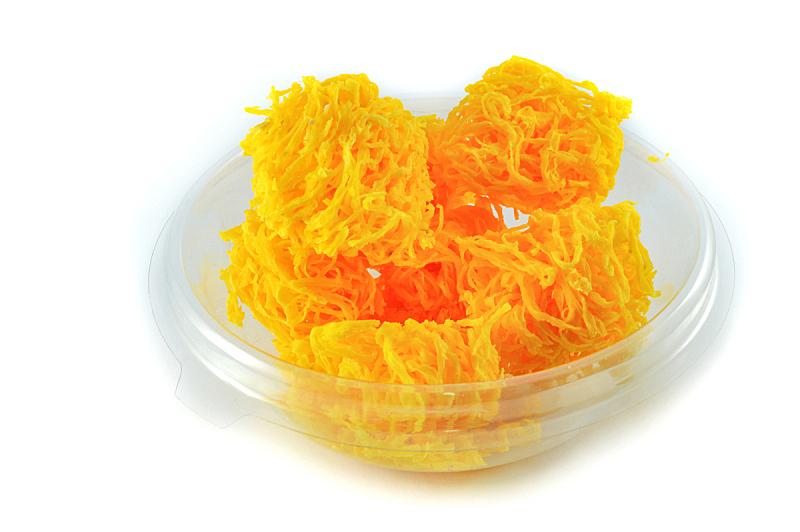 泰国,蛋黄,甜点心,线,黄金,分离着色,传统,清新,蛋糕,牛奶