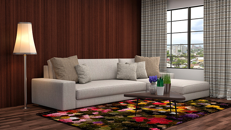 室内,卧室,绘画插图,三维图形,阁楼,床,窗户,住宅房间,褐色,水平画幅