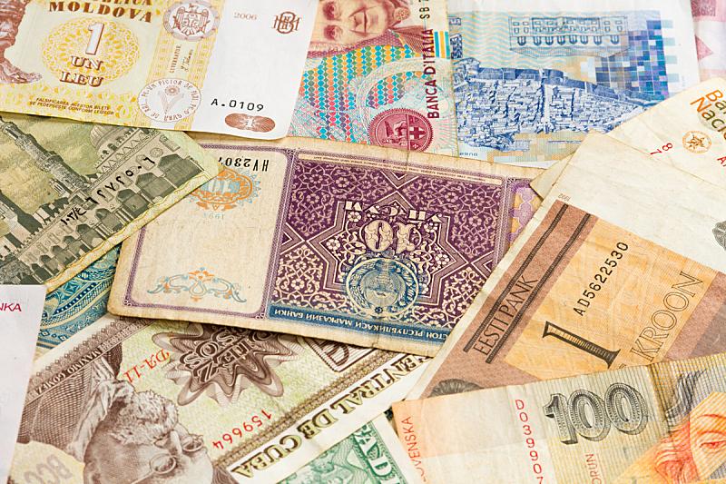 背景,全球财政,波兰兹罗提,水平画幅,纹理效果,无人,图像,泰国,汇率,反差