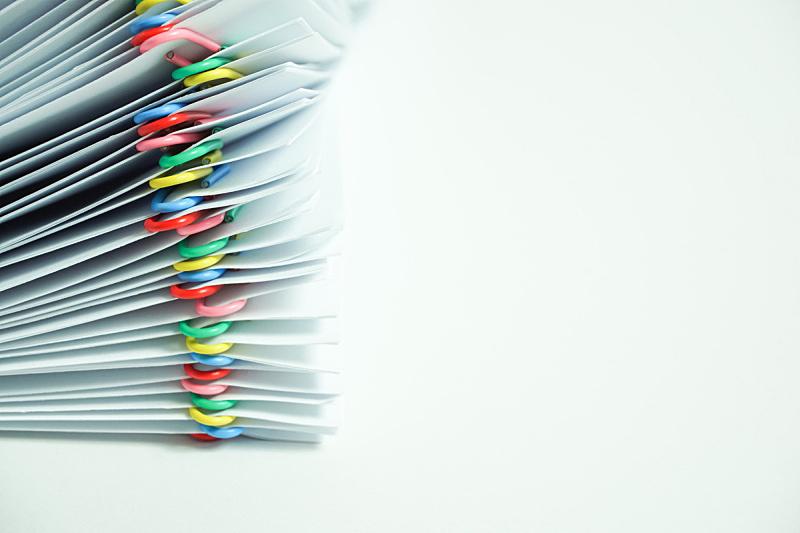 白色背景,文档,书桌,白色,纸,堆,文书工作,简单,商务,图像