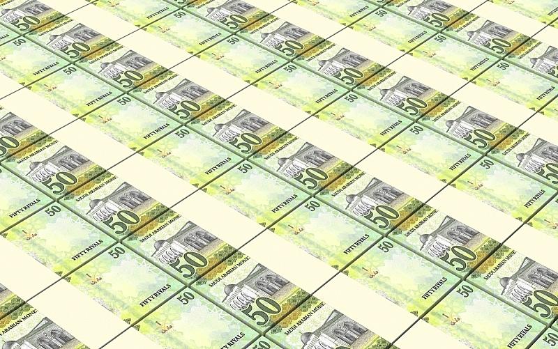 沙特阿拉伯,帐单,水平画幅,财务项目,无人,绘画插图,符号,三维图形,波兰,纸
