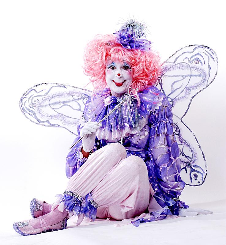 小丑,女孩,垂直画幅,女人,人造的,彩妆,马戏团,人,人群,旅游嘉年华