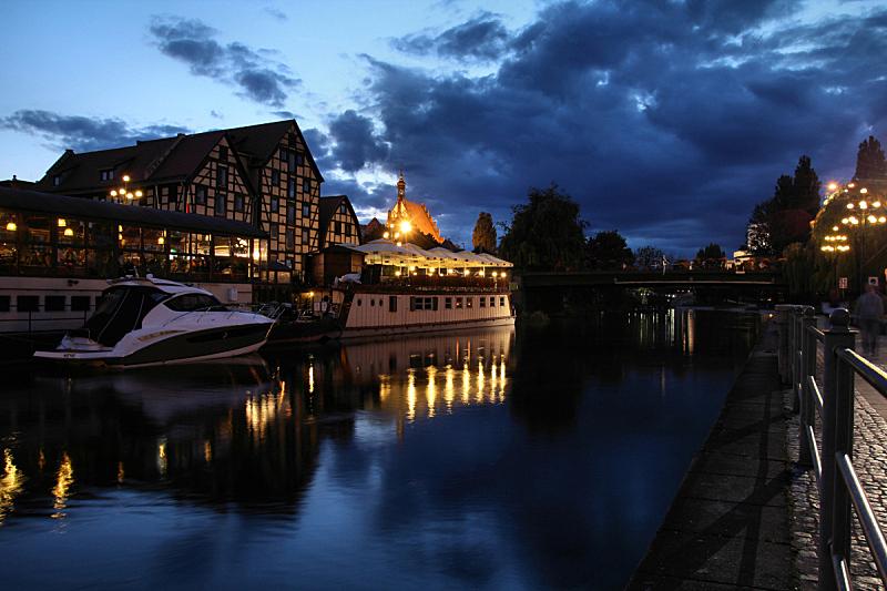 比得哥什,波兰,水,水平画幅,建筑,夜晚,无人,欧洲,古老的,古典式