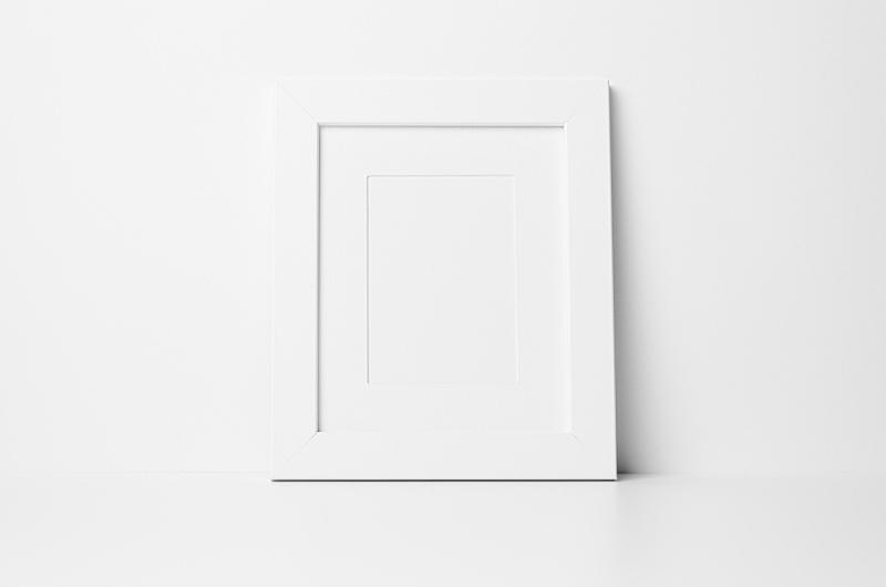 轻蔑的,画框,数字10,空白的,留白,水平画幅,墙,餐具柜,无人,装饰物