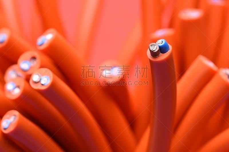 电力线,电缆,有线的,水平画幅,能源,无人,塑胶,特写,金属丝,电源