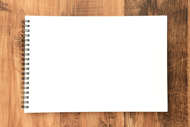 速写本,开着的,留白,边框,水平画幅,消息,白色,儿童,白板,纹理