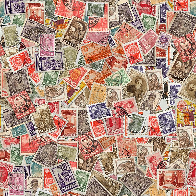 纹理效果,式样,无人,邮戳,方形画幅,前苏联,背景,俄罗斯,摄影