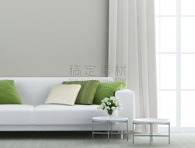 起居室,自然美,正面视角,美,水平画幅,形状,墙,无人,家具,现代