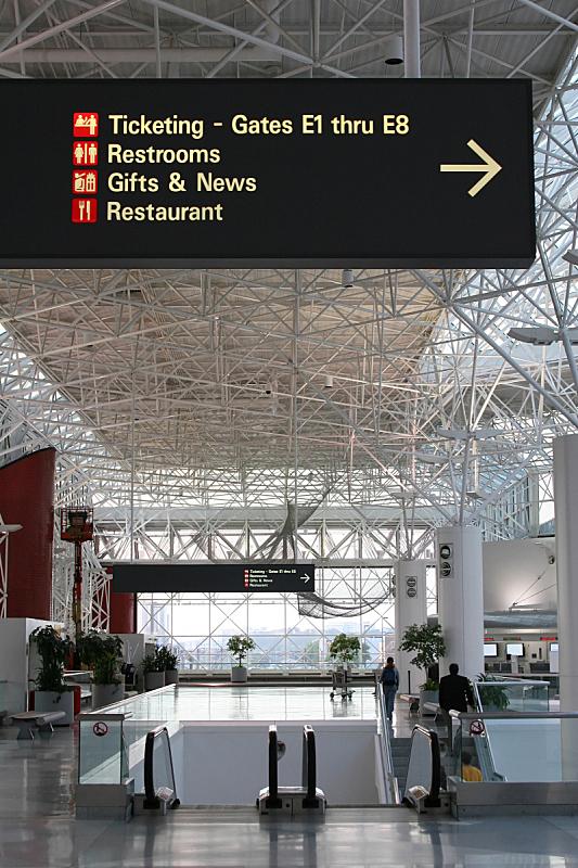 机场,无人,垂直画幅,办公室,交通,大门,行李,交换,上车,检查