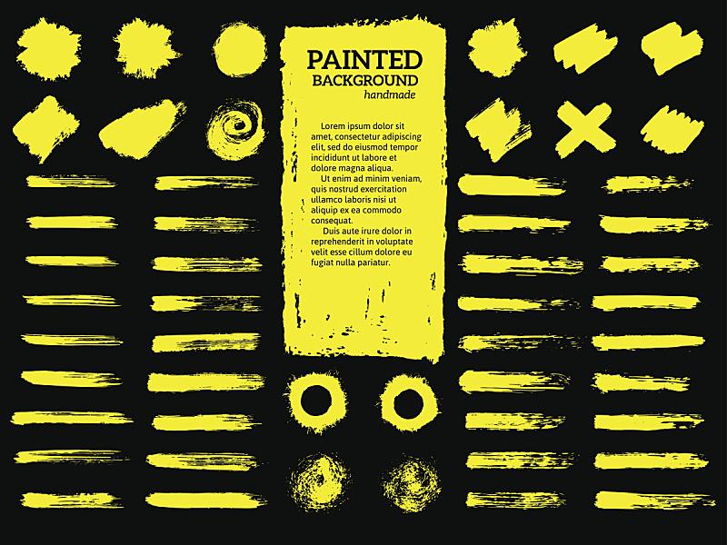 摇滚乐,条纹,涂料,边框,艺术,水平画幅,纹理效果,形状,绘画插图