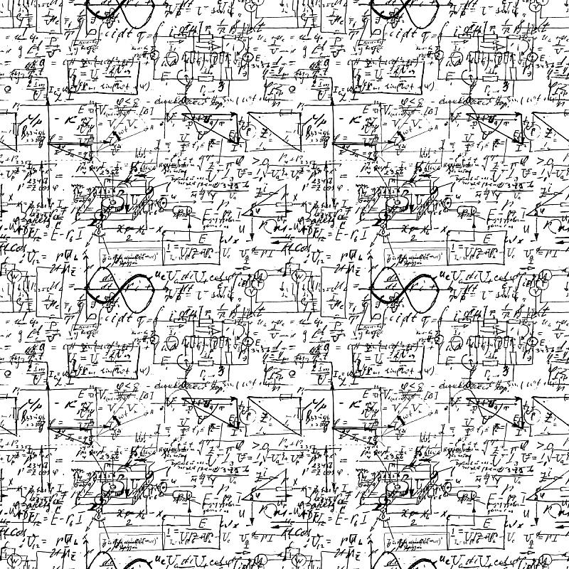数学符号,永远,几何学,白色,点连成线,教育科目,物理学,手写,手术,进展
